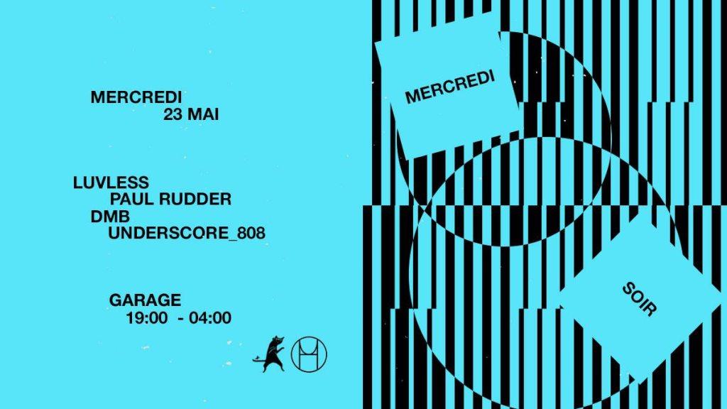 Mercredi Soir: Houseum x HOU - Flyer front