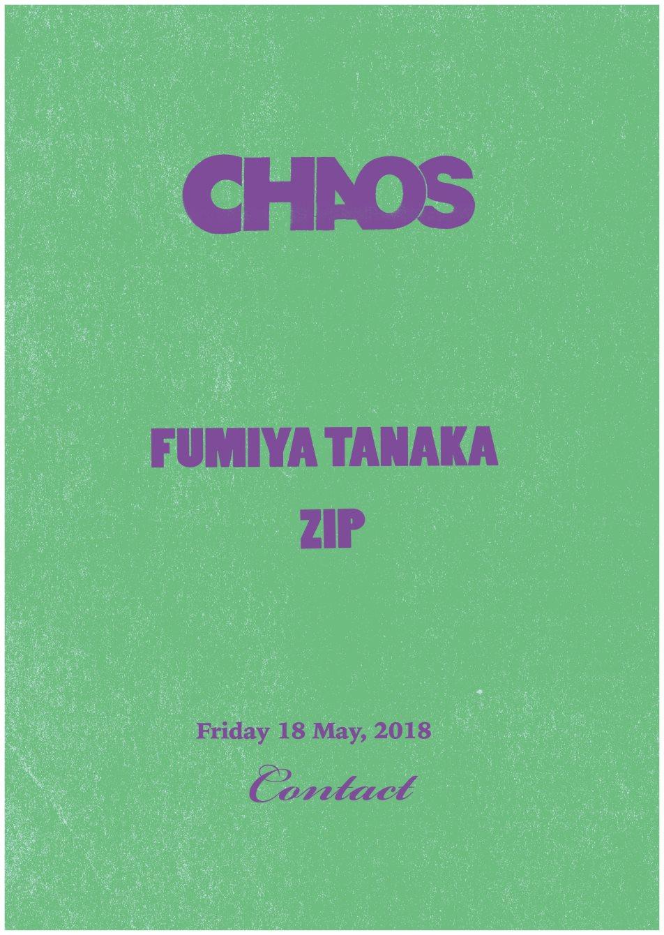 Chaos -ZIP- - Flyer back