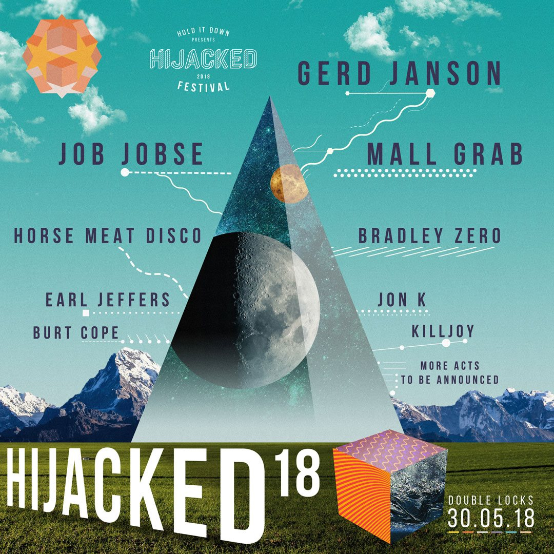 Hijacked Festival 2018 - Flyer front