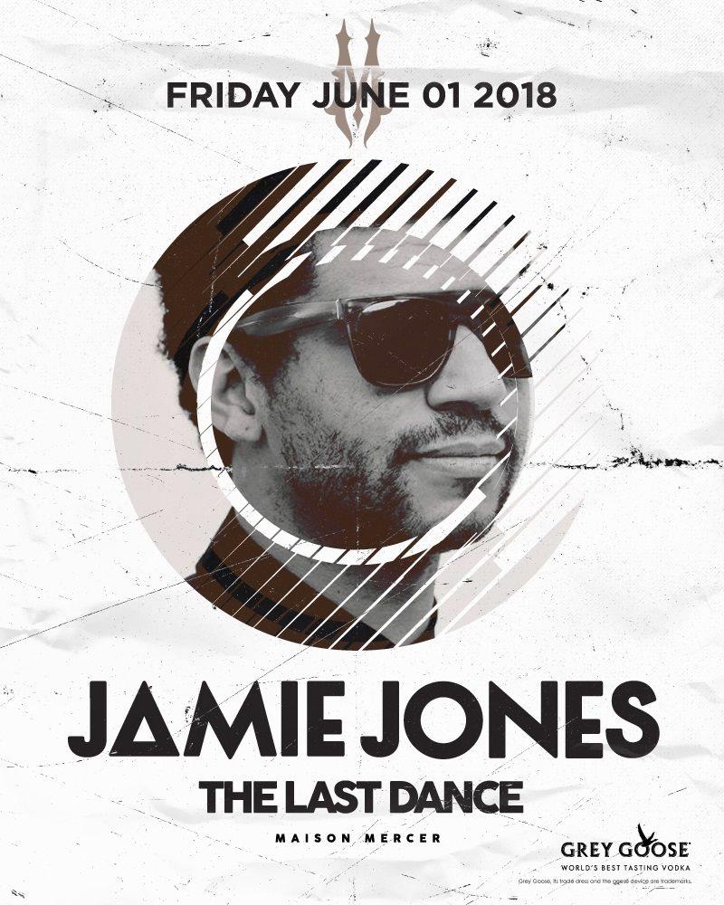 Jamie Jones / The Last Dance - Flyer front