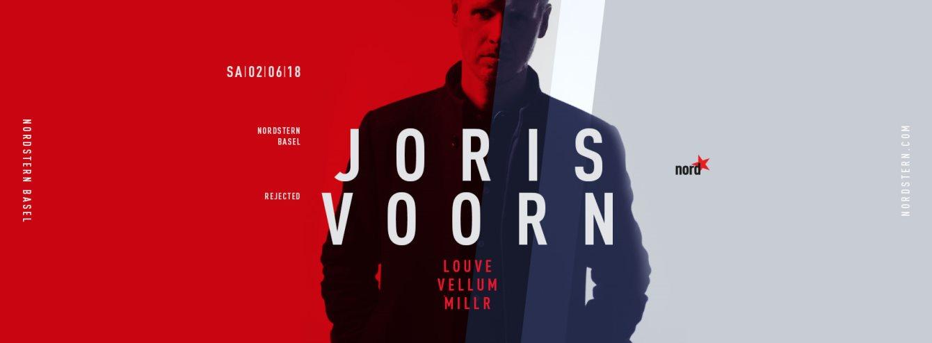 Joris Voorn - Flyer front