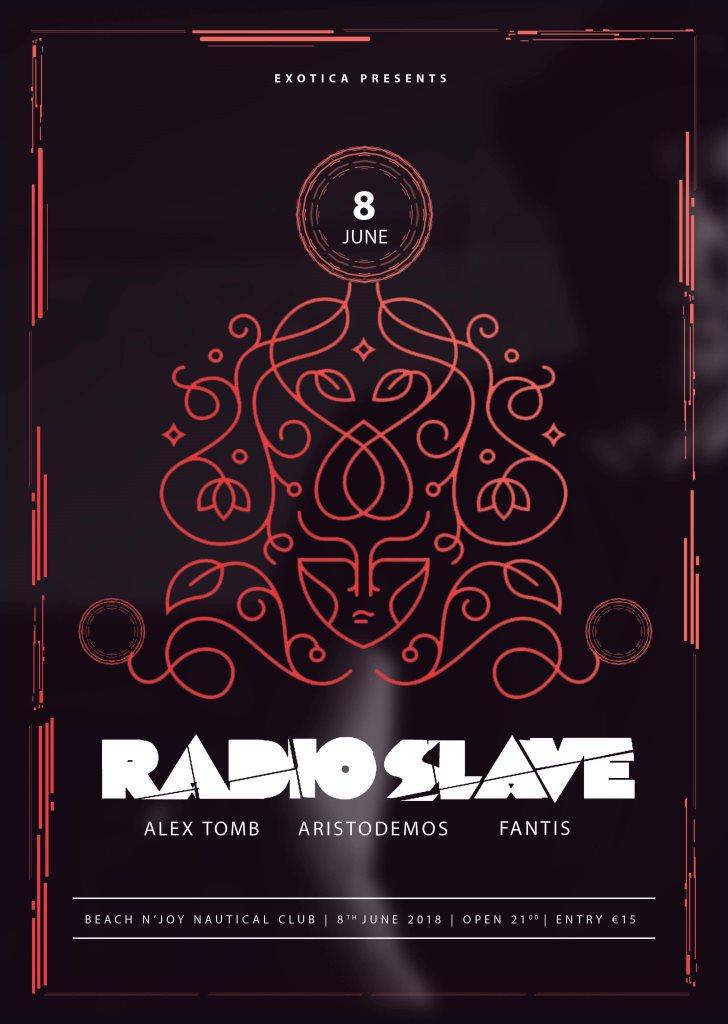 Exotica presents Radio Slave - Flyer front