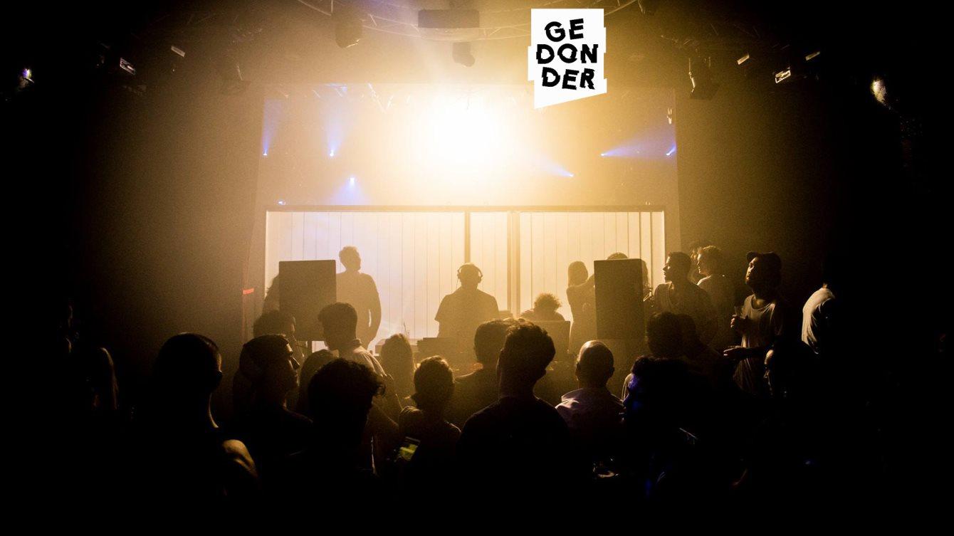 Gedonder with Thomas Hayat & Tim Zwerver - Flyer front