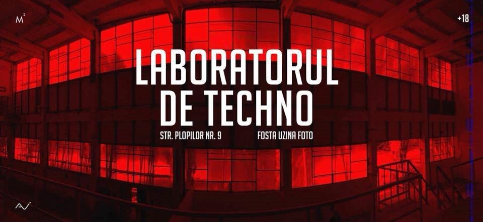 Laboratorul de Techno // LDT 8 - Flyer front
