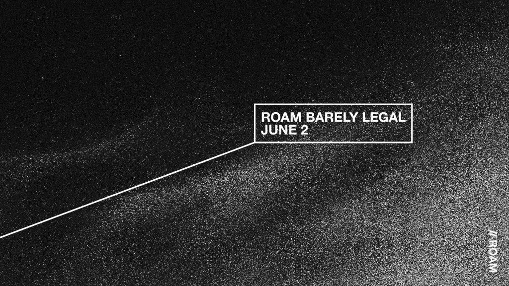 ROAM Barely Legal - Flyer back