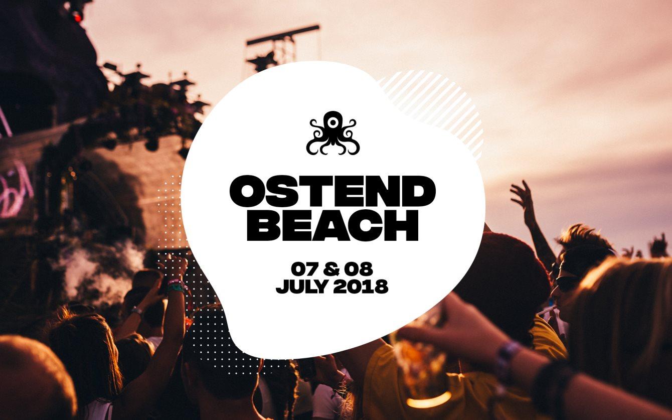 Ostend Beach Festival 2018 - Flyer front