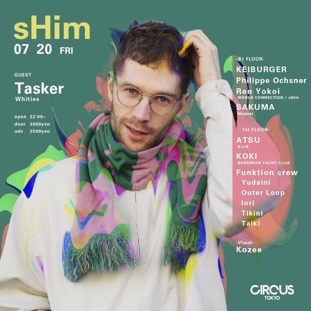 Shim Feat. Tasker - Flyer front