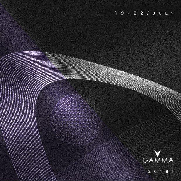 Gamma Festival 2018 - Flyer front