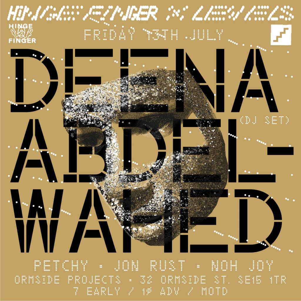 Hinge Finger x Levels with Deena Abdelwahed & Petchy - Flyer back