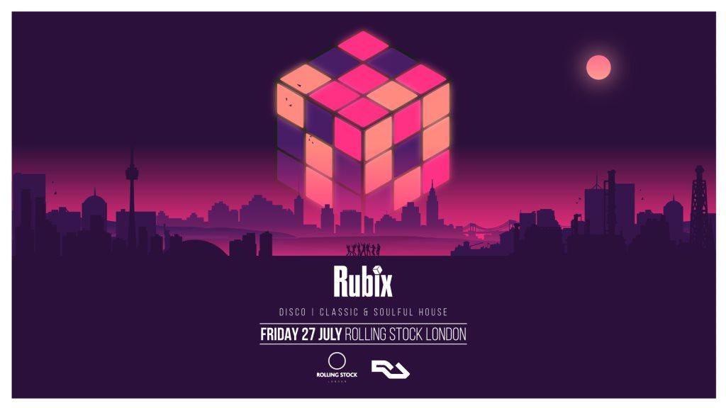 Rubix - Flyer front
