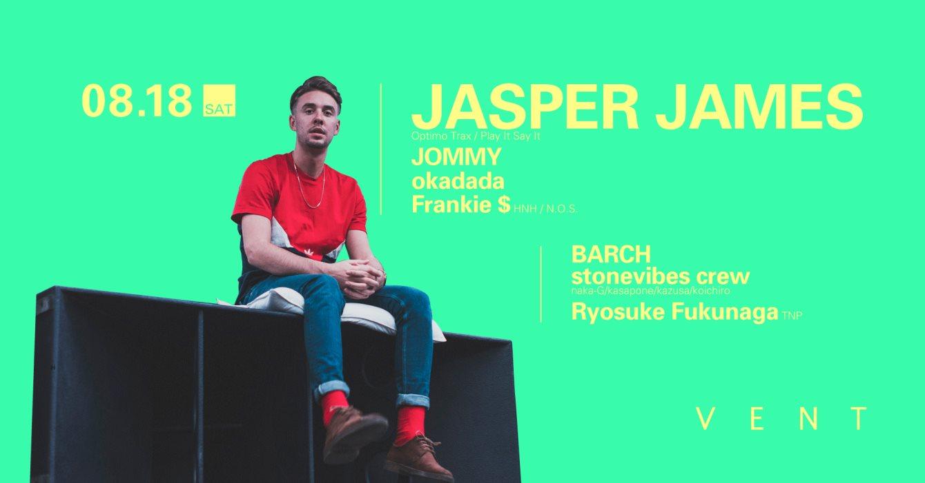 Jasper James - Flyer front