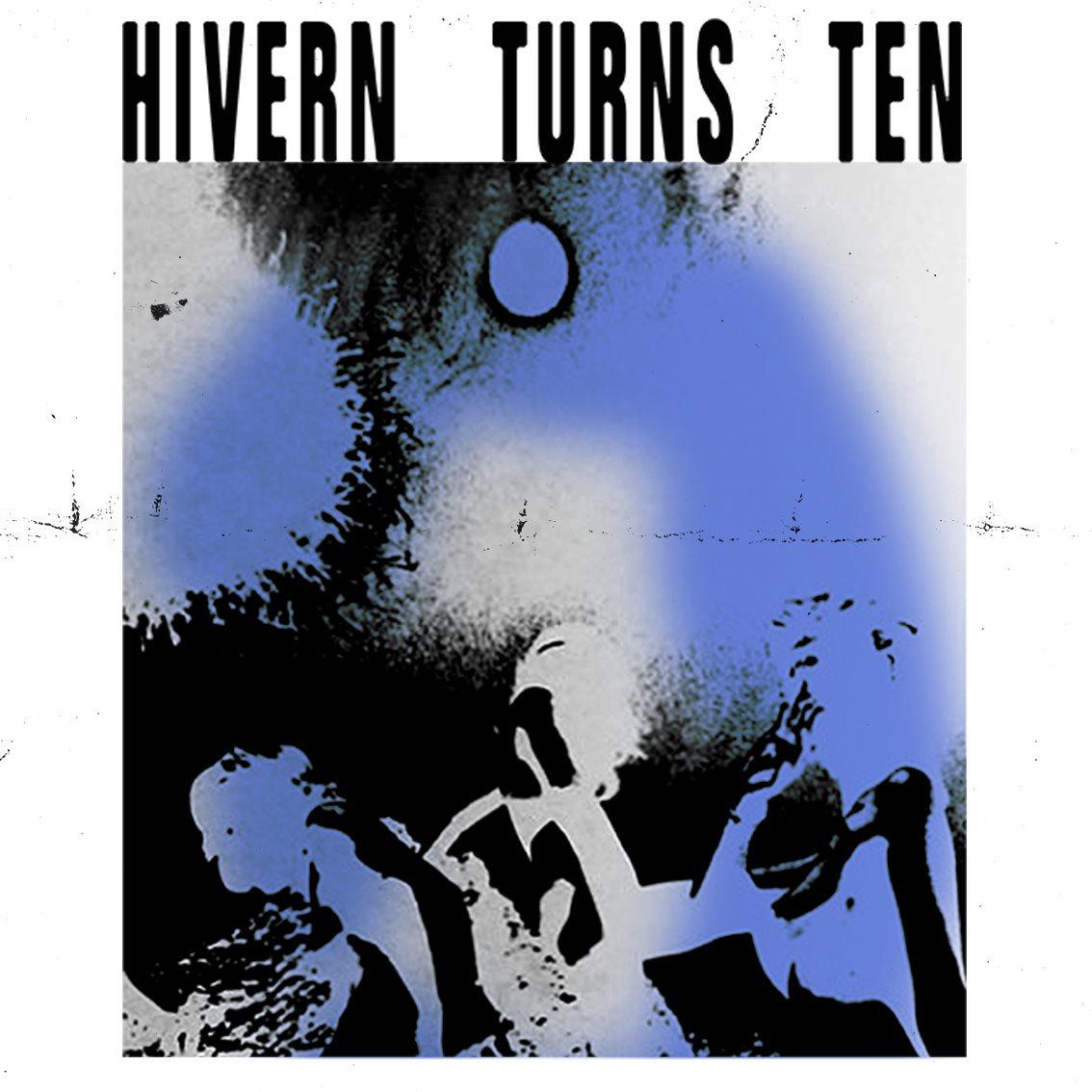 Hivern Turns Ten - Flyer back