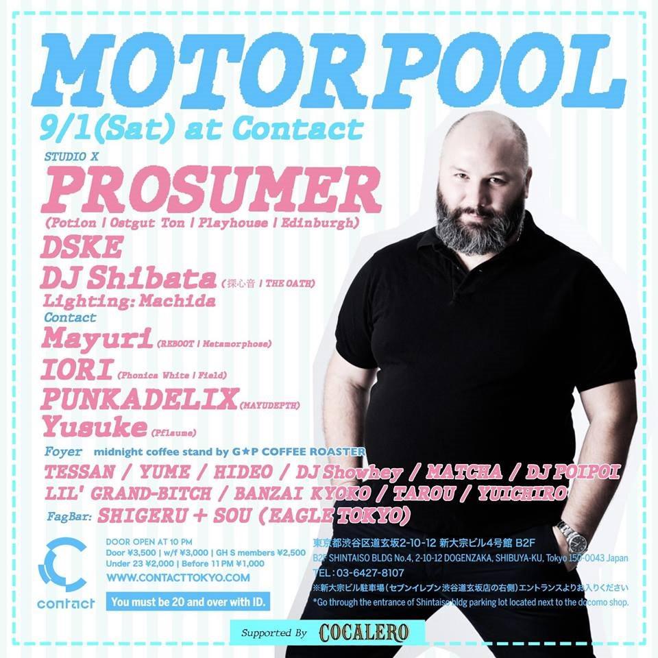 Motorpool Feat. Prosumer - Flyer back