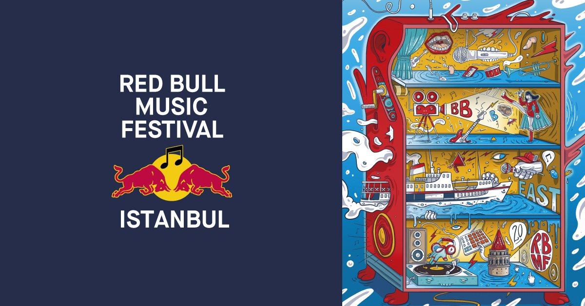 Red Bull Music Festival Istanbul 2018 - Flyer front