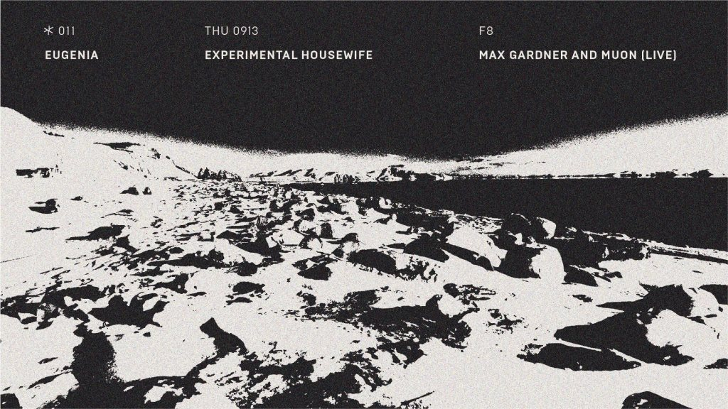 Asterisk 011: Transpose (Live), Experimental Housewife, Eugenia - Flyer front