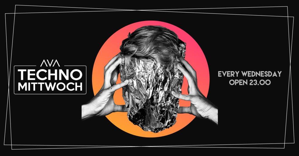 Techno Mittwoch - Flyer front