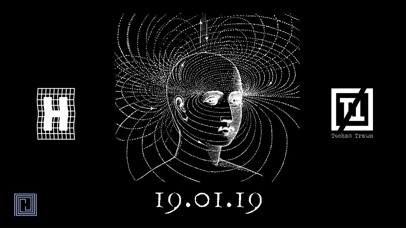 Techno-Traum Pres: Coeter [Kaputt Ltd / Fokus] - Flyer back