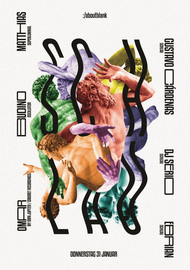 Schlau #4 - Flyer front
