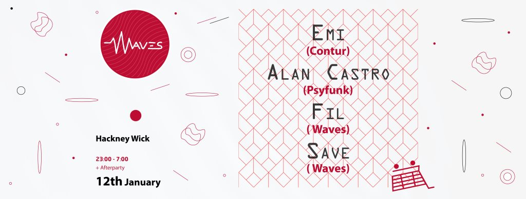 Waves - Flyer front