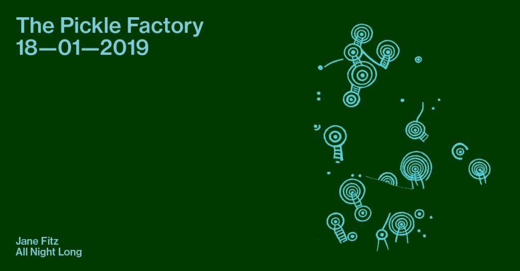 The Pickle Factory with Jane Fitz All Night Long - Flyer front