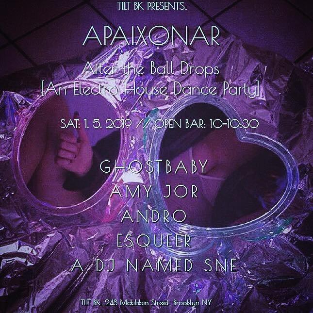 Apaixonar - Flyer back