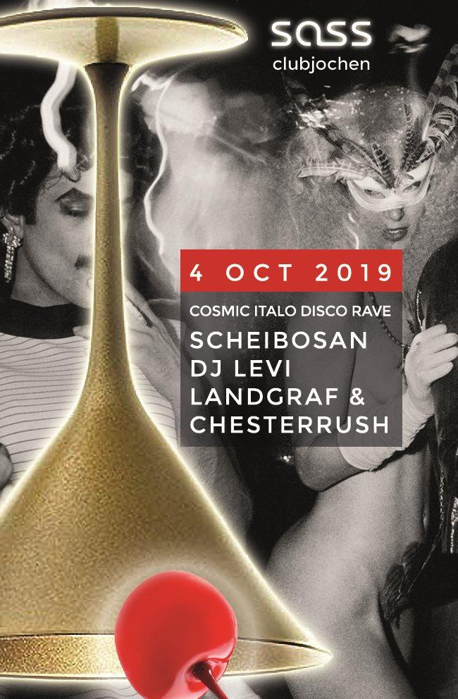 #Clubjochen - Flyer front