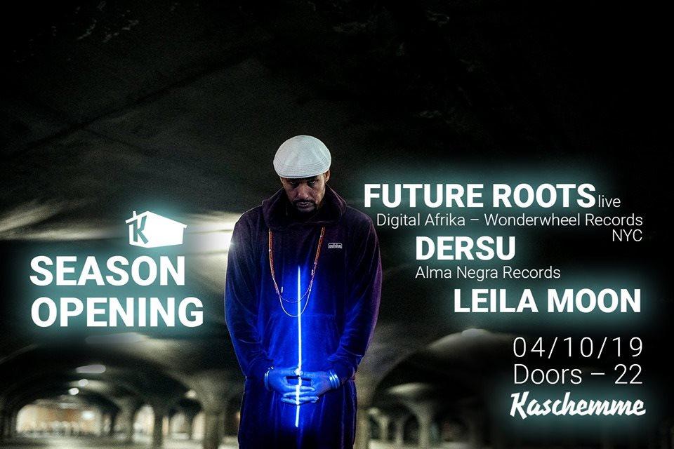 Future Roots (Digital Afrika) - Flyer front