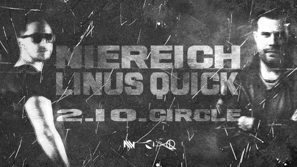 Niereich & Linus Quick Live Set Session - Flyer front