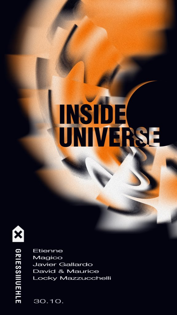 Inside Universe with Magico, Etienne uvm. - Flyer front