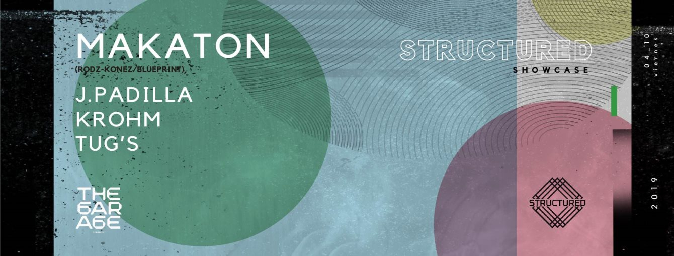 Structured Showcase with Makaton (Live) - Flyer back
