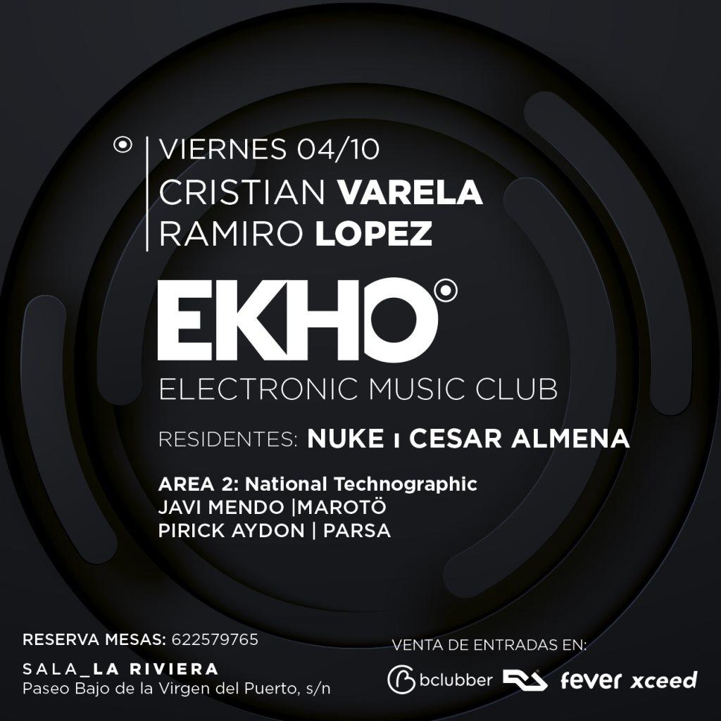 Ekho Club - Flyer front