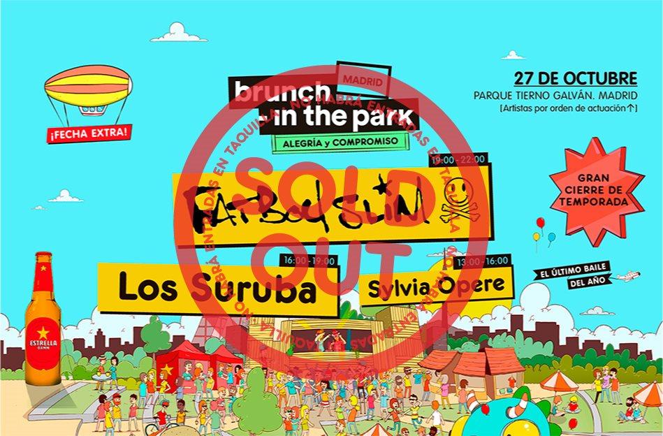 *** Sold Out*** Brunch -In the Park #7: Fatboy Slim, Los Suruba, Sylvia Opere - Flyer back