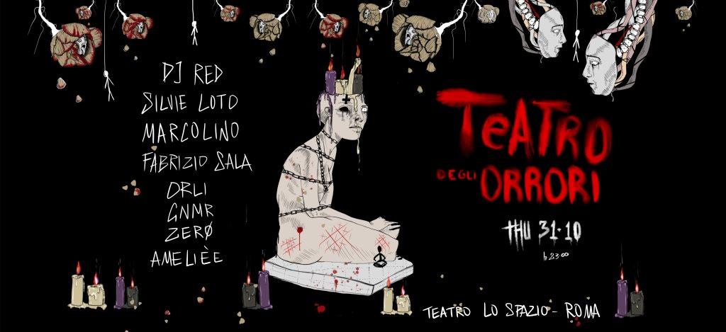 Teatro Degli Orrori - Halloween Night - Flyer front