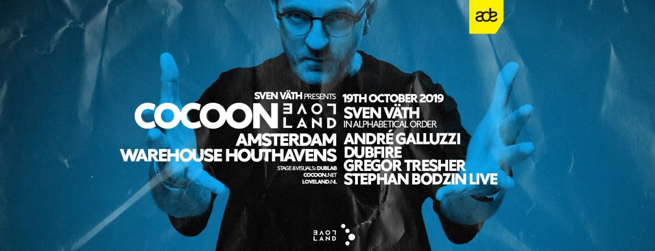 Cocoon x Loveland - Flyer front