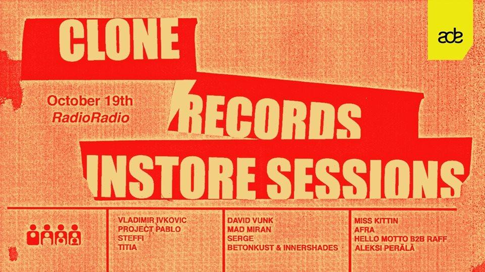 Clone Records - ADE - Radio Radio - Flyer front