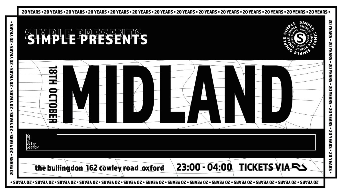Simple presents Midland - Flyer front