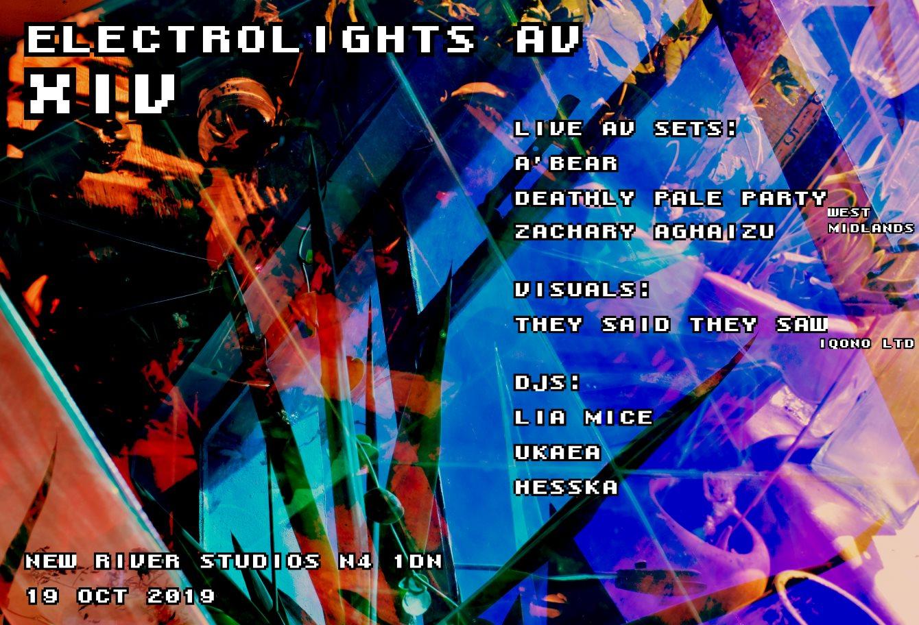ELECTROLIGHTS AV XIV - Flyer front