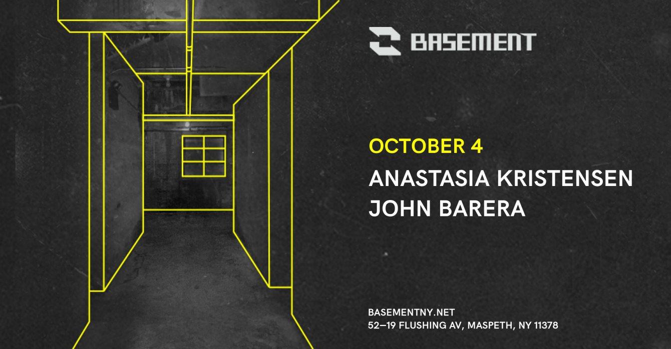 Anastasia Kristensen / John Barera - Flyer front