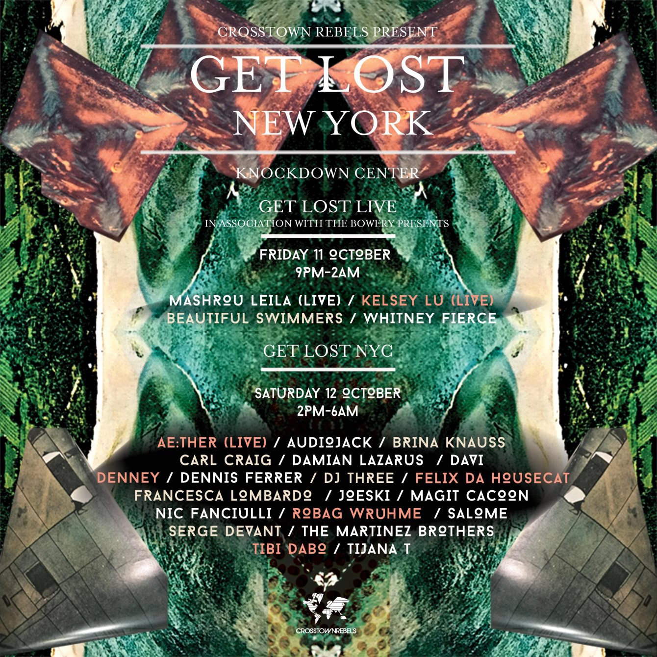 Get Lost NYC - Flyer front