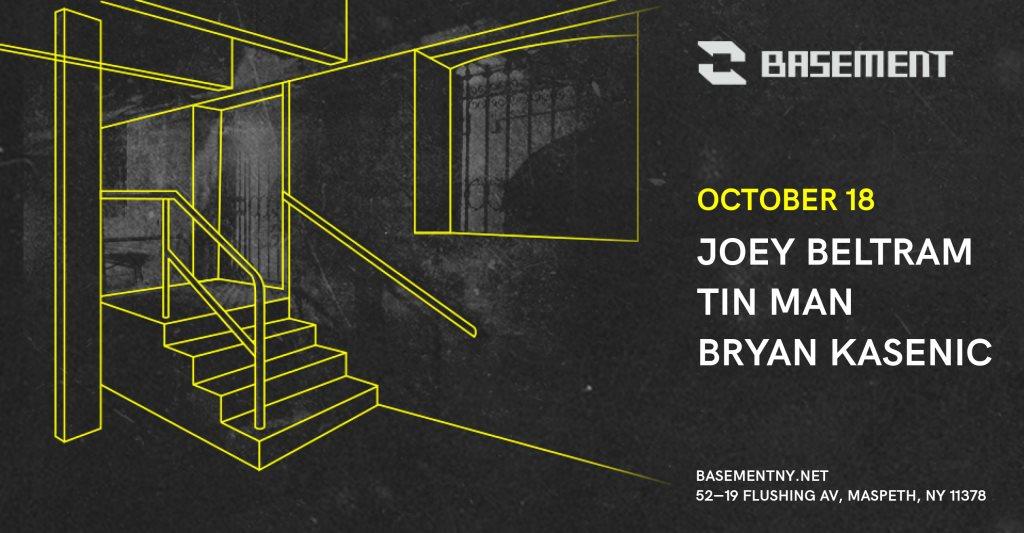 Joey Beltram / Tin Man / Bryan Kasenic - Flyer front