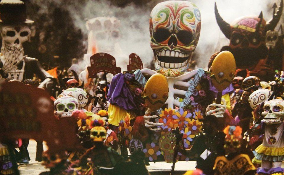 Día de los Muertos Festival 2019 - Flyer front