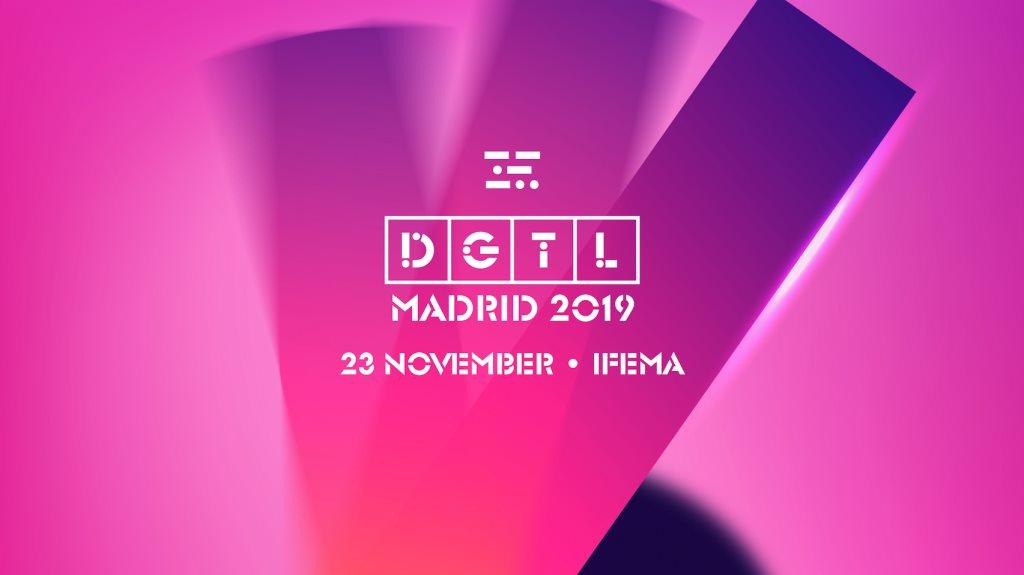 DGTL Madrid 2019 - Flyer front