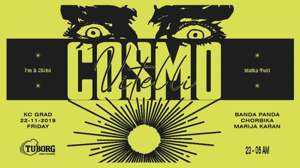 Cosmo Vitelli / Banda Panda & Chorbika - Flyer front