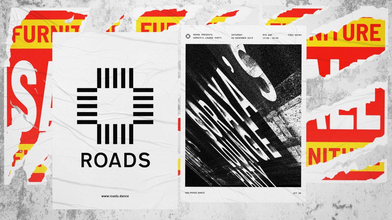 Roads 26: Soraya's Lounge Party - Flyer front