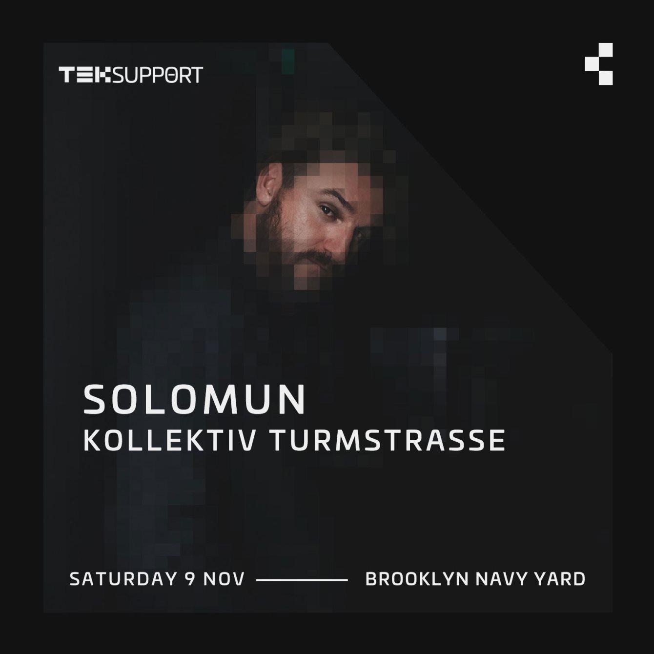 Teksupport: Solomun & Kollektiv Turmstrasse - Flyer back