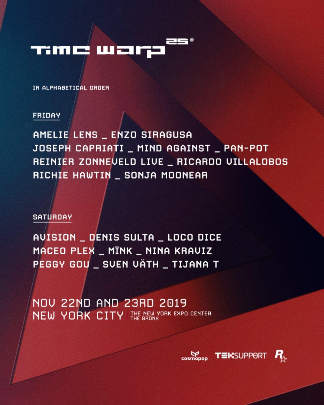 Time Warp USA - Flyer back