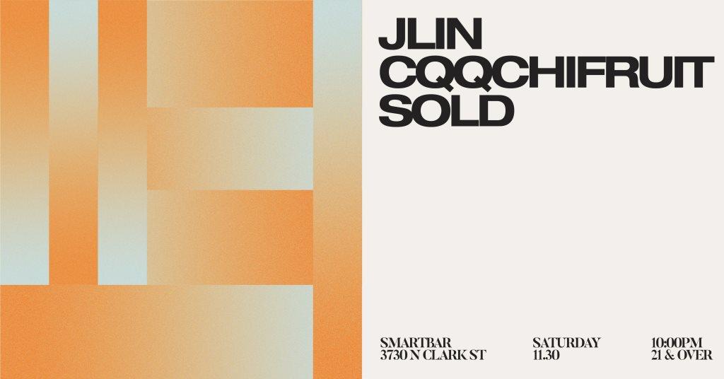Jlin / CQQCHiFRUIT / Sold - Flyer front