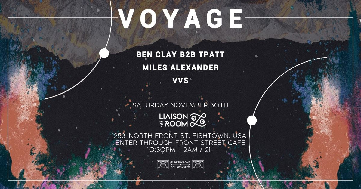 Voyage - Into The Deep No.2 - Flyer front