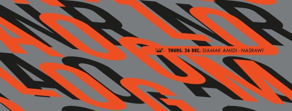 Analog Room presents: Ciao 2019 / Nasrawi / Siamak Amidi - Flyer front