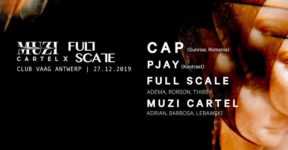 Muzi Cartel & Full Scale - Flyer front